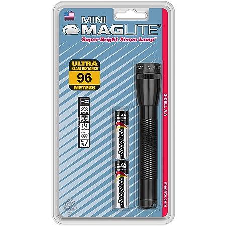 MAGLITE LED 37 Lumens Industrial Black Handheld Flashlight MAGLITE SJ3A016
