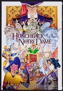Disney's THE HUNCHBACK OF NOTRE DAME - 18X27 Original Promo Movie Poster Rare