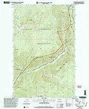YellowMaps Coleman Peak WA topo map, 1:24000 Scale, 7.5 X 7.5 Minute, Historical, 2001, Updated 2004, 27.2 x 22.2 in
