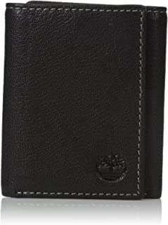Men's Genuine Leather Rfid Blocking Trifold Security Wallet