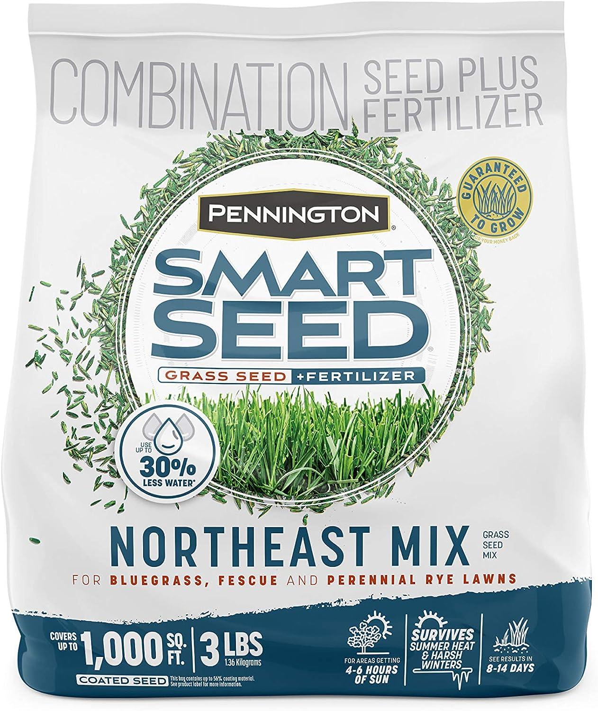 Award-winning store Pennington Sale Special Price Smart Seed Northeast Grass Mix 3 Fertilizer and