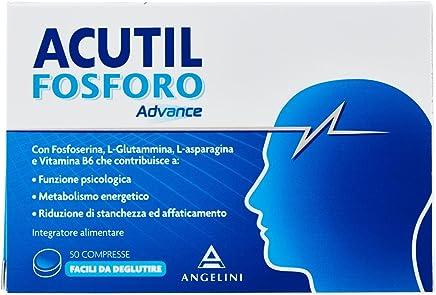 Acutil Fosforo Advance Facili da Deglutire Integratore Alimentare - 50 compresse