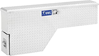 UWS EC30021 48-Inch Passenger-Side Heavy-Wall Aluminum Truck Fender Wheel Well Tool Box, RigidCore Lid
