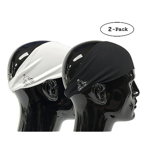 Temple Tape Headbands for Men and Women - Mens Sweatband   Sports Headband  Moisture Wicking Workout 690b162218e
