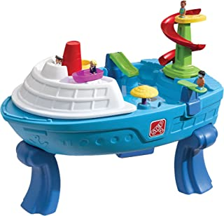 Step2 Fiesta Cruise Sand & Water Summer Center Water Table, Blue