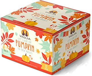 Weruva Classic Dog Food, Let's Give Em' Pumpkin to Talk About Variety Pack, 5.5oz Can (Pack of 12)