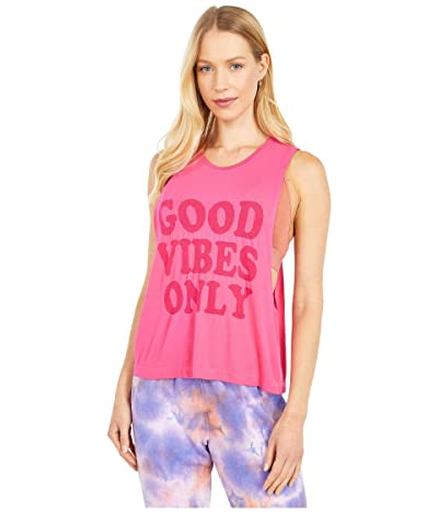 Spiritual Gangster Active Flow Top (Good Vibes/Watermelon) Women