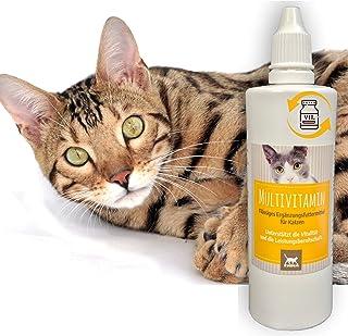 Emma® Vitamin B komplex för katter B1 B2 B6 B12 I Multi Vitamin A D3 E mineraler I kalcium folsyra järn zink I immunsystem...