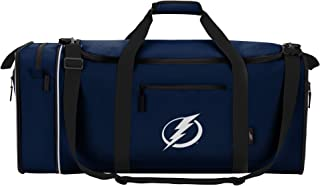 NHL Tampa Bay Lightning Unisex C11NHL/C7241/0022/AMZ Steal Duffel Bag, Black, One Size