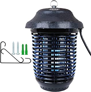 KAPAS Electric Insect Zapper, New Upgrade with Free Hanger 40W Outdoor Bug Killer Lantern for Mosquitoes, Flies, Gnats, Pests & Other Insects, 1 Acre Coverage (1)