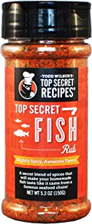 Todd Wilbur's Top Secret Fish Rub Seasoning - Just like the Pro Chefs use!
