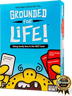Grounded for Life Family Party Game by What Do You Meme?