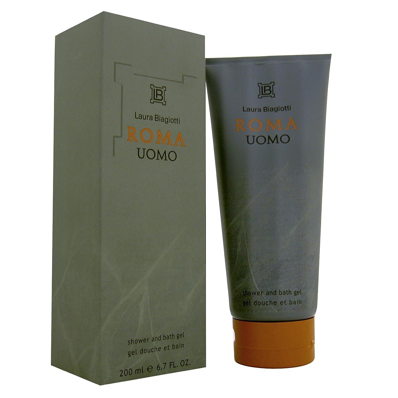 安全一流加害者ラウラビアジョッティ Roma Uomo Shower Gel 200ml/6.8oz並行輸入品