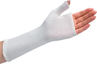 Rolyan Thumb Spica Stockinette, Stockinette Tubing, Cotton Stockinette for Pre-Wrap Use, Cotton Wrist Sleeve for Skin Protection Under Splints, Splint Fabrication Liner, Pack of 10, Size Medium