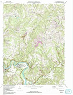 YellowMaps Avonmore PA topo map, 1:24000 Scale, 7.5 X 7.5 Minute, Historical, 1964, Updated 1993, 27 x 22 in