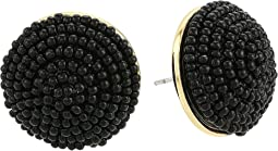 Kate Spade New York The Bead Goes On Button Studs Earrings