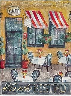 Trademark Fine Art French Bistro by Marietta Cohen Art and Design, 14x19-Inch