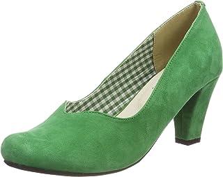 Suchergebnis auf für: grüne pumps: Schuhe