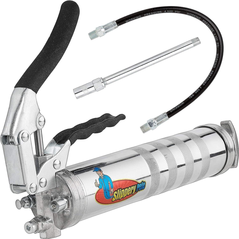 Slippery Pete Heavy-Duty Manual Grease Gun