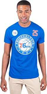 Men's NBA Player Name And Number S/S Cttn T, Philadelphia 76ers, Royal, XX-Large