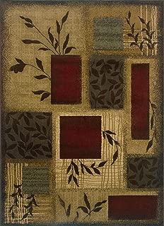Oriental Weavers Amelia 260X Area Rug, 5-Feet by 7-Feet 6-Inch
