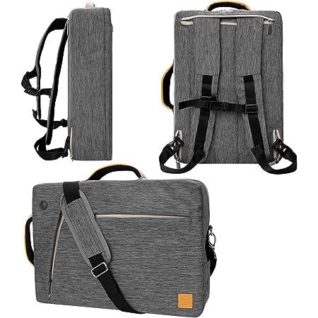 "VanGoddy Slate Gray Convertible Laptop Bag for Apple iPad Pro, iPad 9.7"" to 12.9-inch"