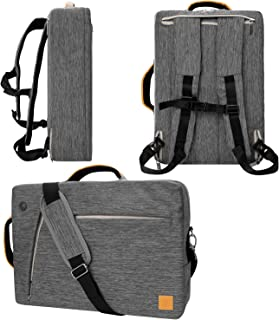 "VanGoddy Slate Convertible Laptop Bag for Microsoft Surface Book 2 13.5"" 15"", Surface Pro 6 12.3"", Surface Laptop 2 13.5"" Gray Gray 13inch"