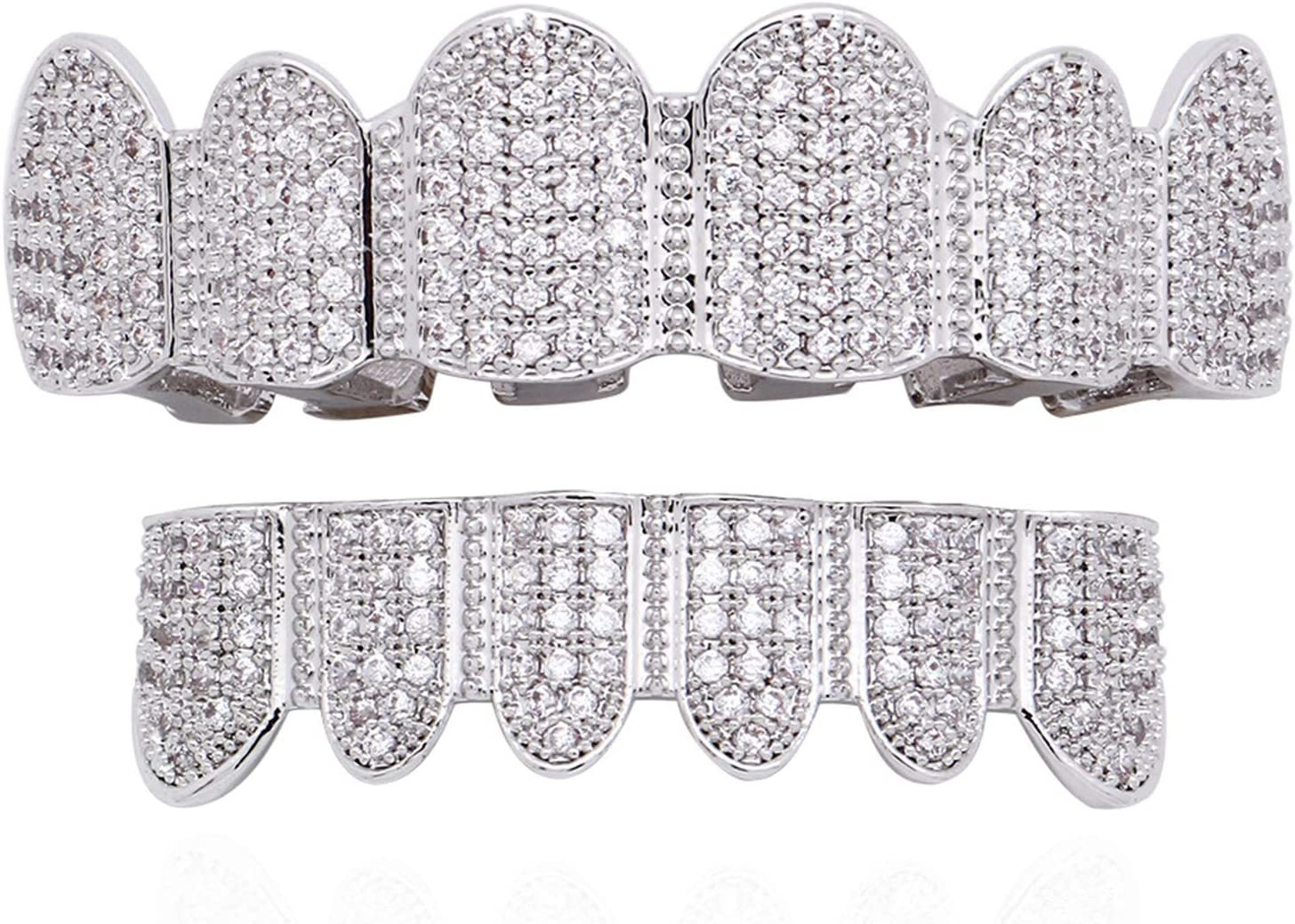 Diamond Grillz Genuine Gold-silver Tooth Cap grills Hop Se Max 48% OFF Teeth hip for