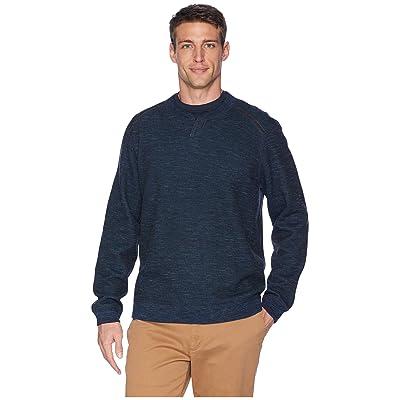 Tommy Bahama Reversible Flipsider Abaco Sweater (Jet Black) Men