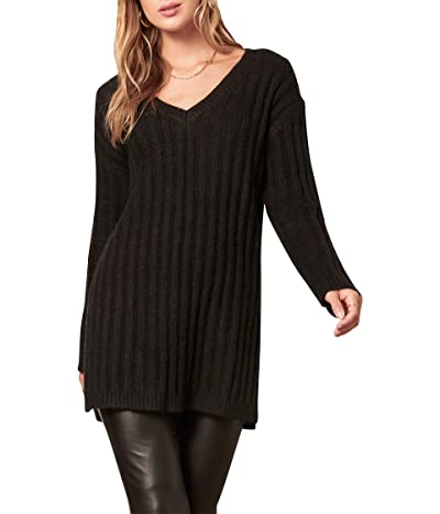 BB Dakota x Steve Madden Big Deal Sweater (Black) Women
