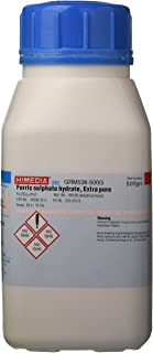HiMedia GRM536-500G Ferric Sulphate Hydrate, Extra Pure, 500 g