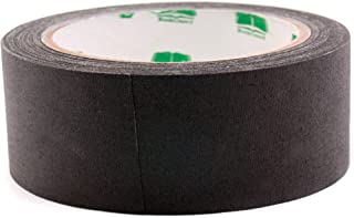 BookGuard 1-1/2 Inch  Vinyl-Coated Cotton Cloth Book Binding Repair Tape, 15 Yard Roll, Black