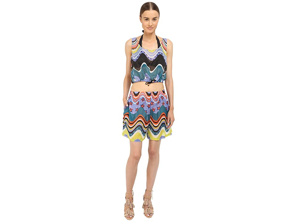 M Missoni Circus Two-Piece Cover-Up (Black) Women