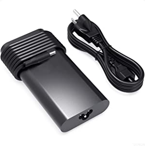 DONGNI 130W AC Adapter Charger for Dell XPS 15 9530 9550 9560 9570 7590 Precision M3800 M2800 5510 5520 5530 In-spiron 7348 7347 7459 DA130PM130 HA130PM130 RN7NW Laptop Power Supply Cord Tip 4.5x3.0mm