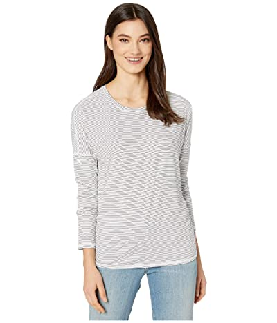 SKECHERS Session Long Sleeve (White/Black) Women