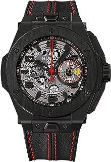 Hublot - Todo negro limitado automático calado Dial negro cerámica reloj de los hombres