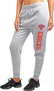 Ultra Game NBA Women's Jogger Pants Active Basic Fleece Sweatpants