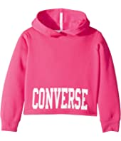 Converse Kids - Collegiate Cropped Pullover (Toddler/Little Kids)