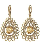 Marchesa - Medium Open Pear Drop Earrings