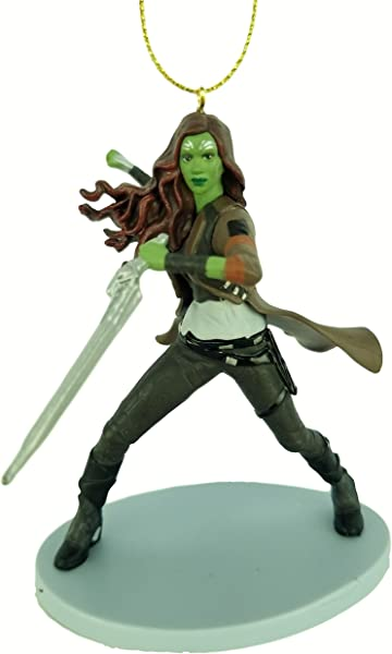 Gamora Infinity War Figurine Holiday Christmas Tree Ornament Limited Availability New For 2018