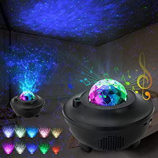 SEATANK Galaxy Projector Star Project 3 in 1 Projector Night Light with Bluetooth remote control Hi-Fi Speaker for Kid's Bedroom/Game Rooms/Home Theatre/Party Birthday Gifts.