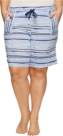 Jockey Plus Size Printed Bermuda