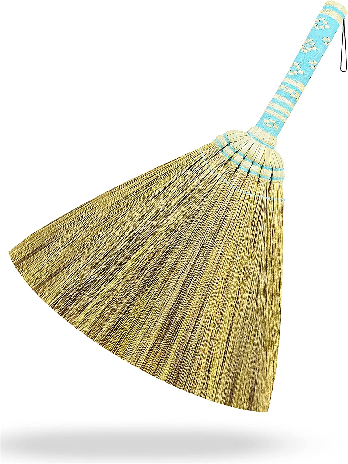 Small Sweeping Broom L 17.5 Inch Natural Grass B with Shipping included Limited Special Price Mini