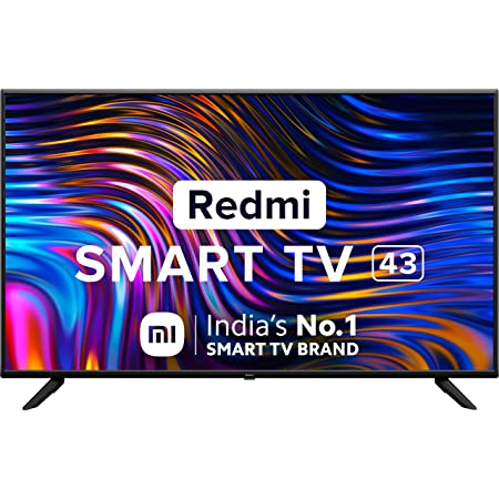 Redmi 108 cm (43 inches) Full HD Smart LED TV | L43M6-RA (Black) (2021 Model) | With Android 11