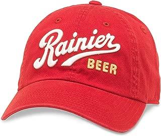 Ballpark Rainier Beer Baseball Dad Hat (PBC-1901I-RED)