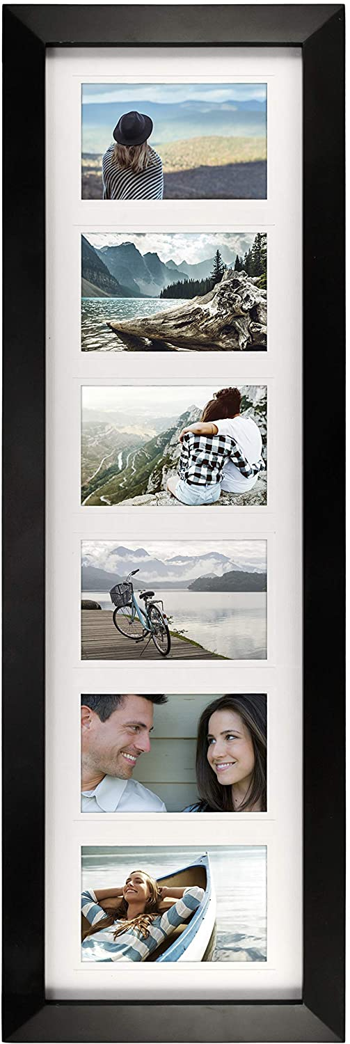 Malden 4x6 6Opening Collage Manufacturer direct Very popular! delivery Matted Six Displays Frame Picture