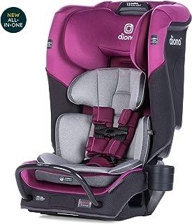 Diono Radian 3QX Latch, All-in-One Convertible Car Seat, Purple Plum