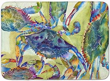"Caroline's Treasures Crab All Over Floor Mat, 8512RUG, Multicolor, 19"" x 27"""