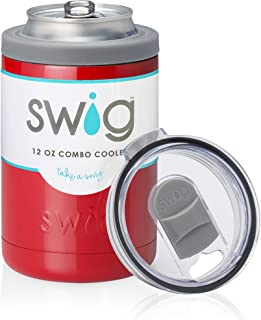 Swig 12oz Combo Cooler-Red