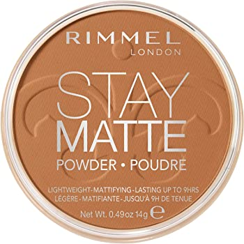 Rimmel Stay Matte Pressed Powder, Pecan, 0.49 Ounce (Pack of 1)